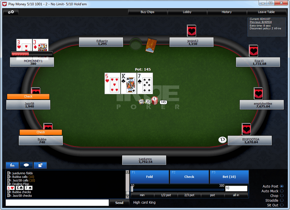 online poker free rolls us players